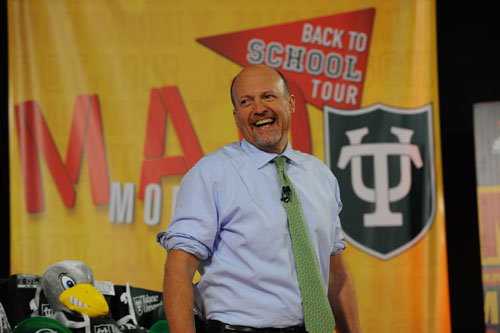 "Booyah on the Bayou: Cramer brings ""Mad Money"" to Freeman"