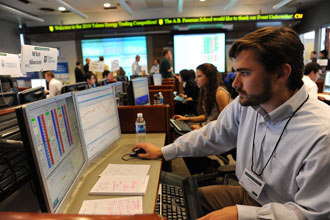 Top traders converge on Tulane for Energy Trading Competition