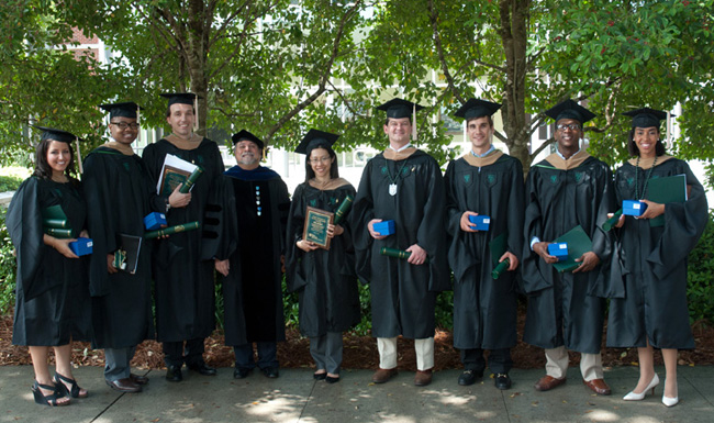 Student award winners from 2011 commencement