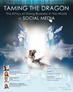 Burkenroad Symposium to explore ethics and social media