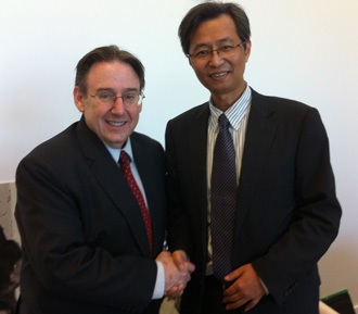 Freeman expands relationship with China's Zhejiang University