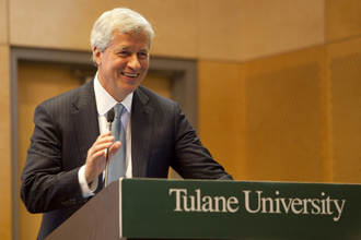 JPMorgan Chase chief optimistic about banking, business and the future of America