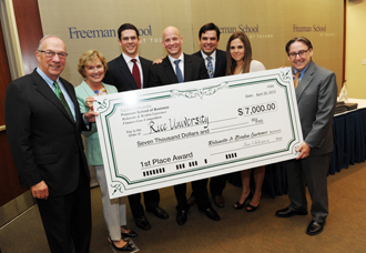 Freeman hosts 16th Finance Case Competition