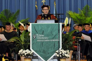 Freeman's 2012 graduate diploma ceremony spans traditions
