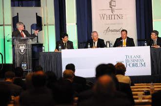 Sports takes the spotlight at Tulane Business Forum