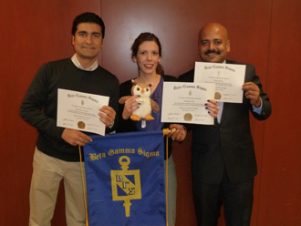 Beta Gamma Sigma inducts newest members