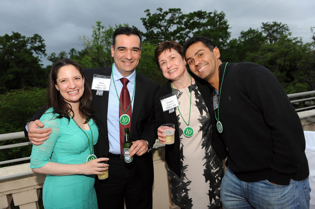 Graduate Reunion Party draws more than 150 alumni