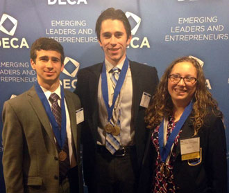 Students earn national recognition at business competition