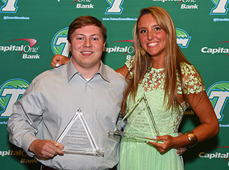 Business students honored as Scholar-Athletes of the Year