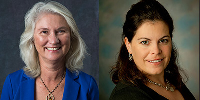 A new study ranks Lynn Hannan, left, and Jasmijn Bol among the top 25 experimental accounting scholars in the world.