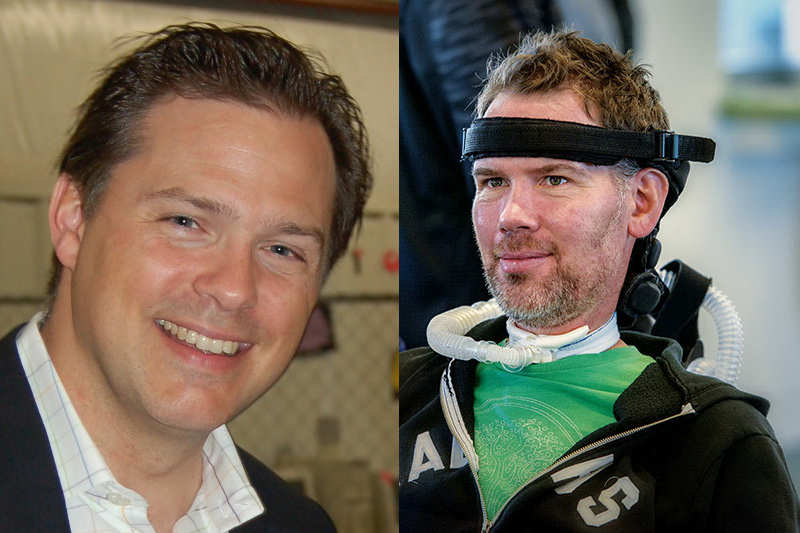 J.J. Buquet and Steve Gleason