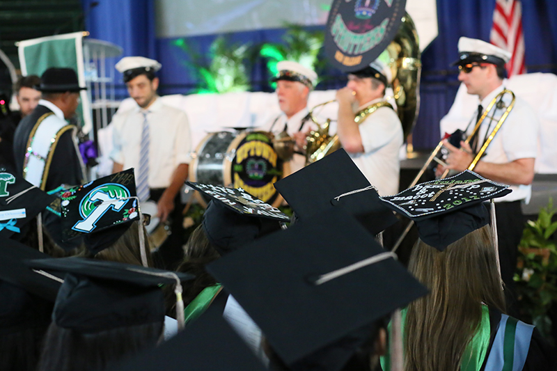 Freeman awards more than 700 diplomas at graduation ceremonies