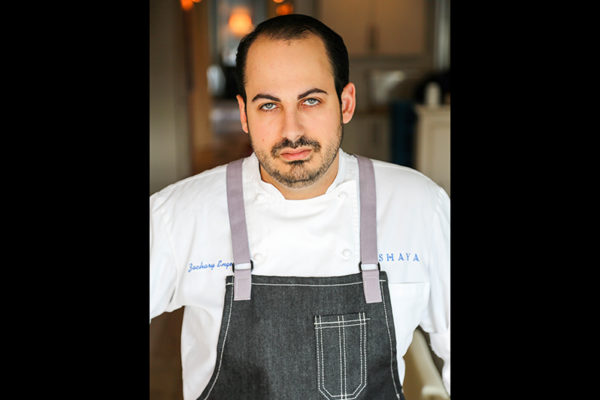 Zachary Engel won the James Beard Award for Rising Star Chef of the Year at the Beard Foundation's 2017 awards ceremony in Chicago.