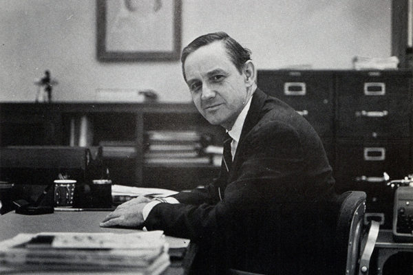 "C. Jackson ""Jack"" Grayson served as dean of the Freeman School from 1964 to 1967."